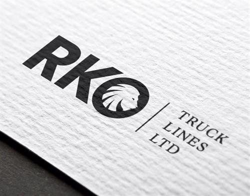 Hybrid Media Lethbridge Branding Web Design and Marketing Agency Client Study RKO Trucklines Logo Design