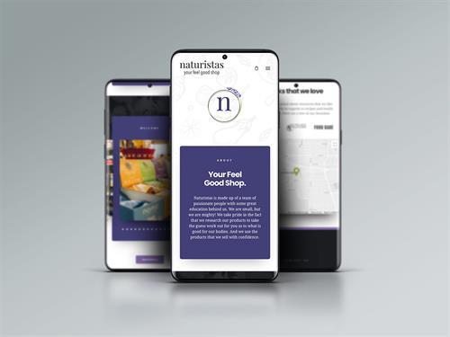 Hybrid Media Lethbridge Branding Web Design and Marketing Agency Client Study Naturistas