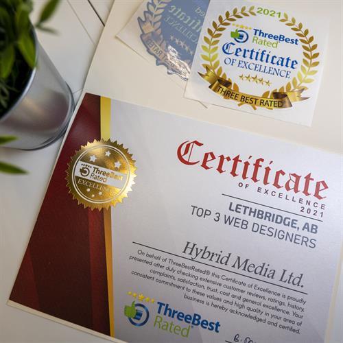 Hybrid Media Lethbridge Branding Web Design and Marketing Agency Three Best Rated in YQL