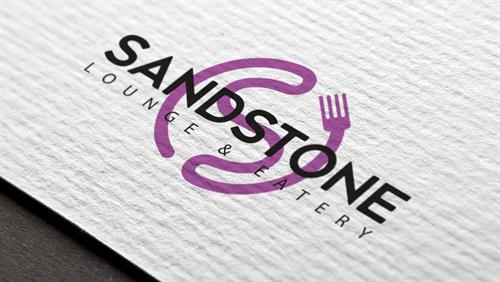 Hybrid Media Lethbridge Branding Web Design and Marketing Agency Client Study Sandstone Eatery Logo Design