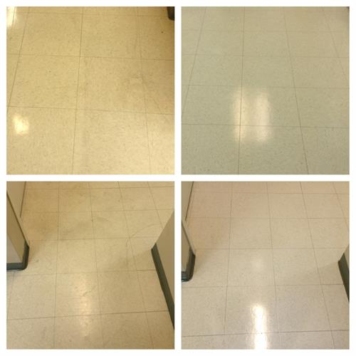 Before/After - Floor Refinishing