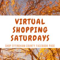 Virtual Shopping Saturdays