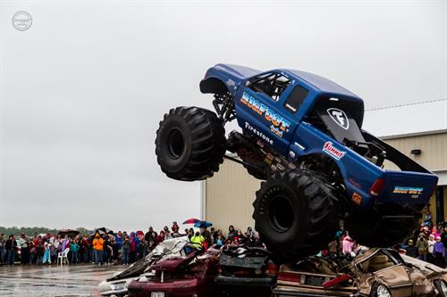 Bigfoot at Teutopolis Auto Sales' Monster Customer Appreciation Celebration