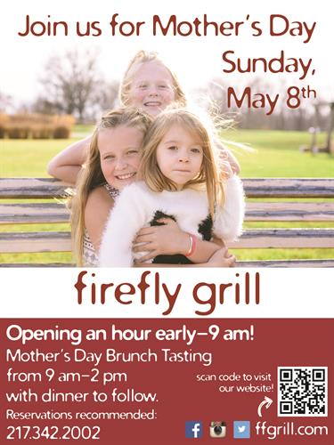 Newspaper ad for firefly grill