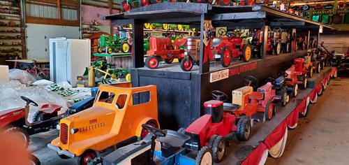 Fisher pedal tractor collection