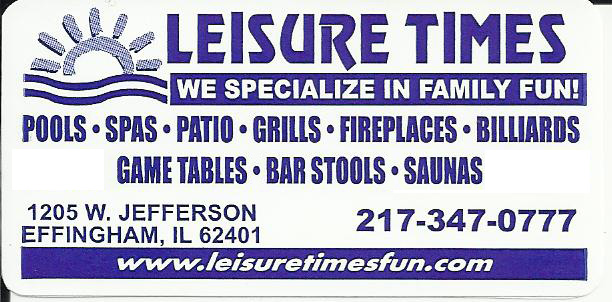 Leisure Times Pools & Spas Ltd.
