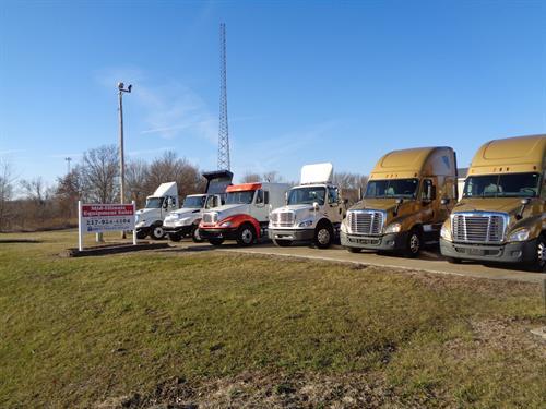 Variety of Trucks