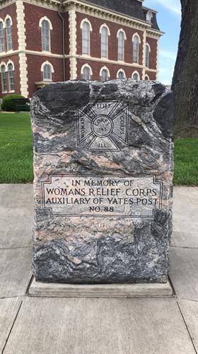 Memorial in Downtown Effingham