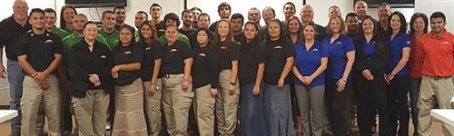 Your local fire and water restoration and clean up employees of SERVPRO of Spring/Tomball