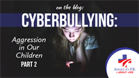 Cyberbullying: Aggression in Our Children (Part 2)