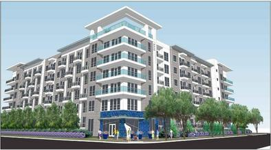 FORE Construction- Azure Apartments - 1111 Durham Luxury Residential Mid-Rise - Houston , TX