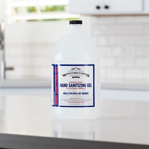 1 Gallon 70% Isopropyl Alcohol Gel Hand Sanitizer