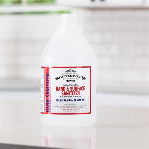 1 Gallon 80% Isopropyl Alcohol Liquid Hand Sanitizer