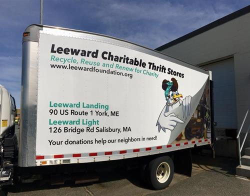 Leewrad Donation Truck
