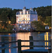 The Goodspeed Opera House on the Connecticut River. Photo by Robert Benson