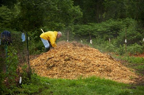 "We are a ""no till"" garden. We rely on our own production of nutritious compost to enrich the soil."