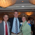 Chamber Annual Dinner: Joseph Wollack, CPA, Richard Bachand, Ambassador Committee Chair, Judy Sullivan, Executive Director