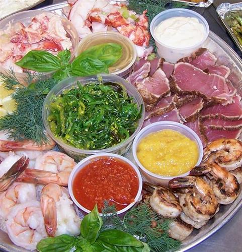 seafood platter deluxe