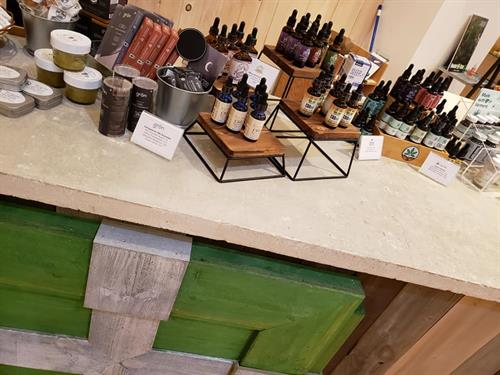 We carry many high quality, organic brands of CBD oil from Vermont and surrounding areas