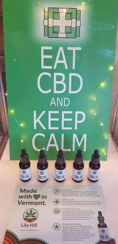 Eat CBD and keep calm people!