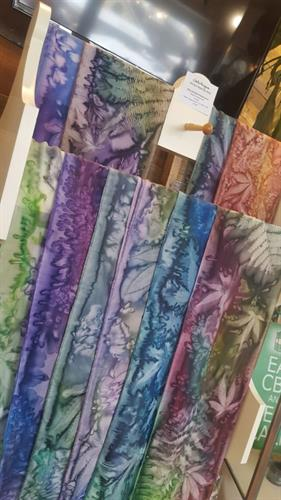 Jackie Mangione's gorgeous scarves