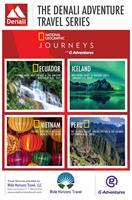 Introducing the Denali Adventure Travel 2019-2020 trips:   Ecuador, Iceland, Vietnam and Peru!