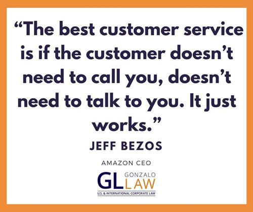 Even though we love to hear from our clients, our focus is to make doing business easy so that it just works. Our team focuses on  understanding your world in order to address your individual business need.   Let's talk more!  Contact us today for a complimentary consultation at ngonzalo@gonzalolaw.com