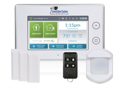 Now offering the sleek Go Control 3 System from 2GIG