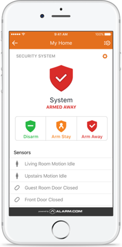 Home Control and Smart Business Services via Alarm.com