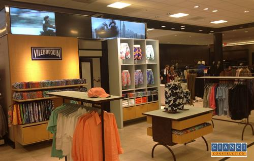 Retail Interior Store Merchandising and Display Construction