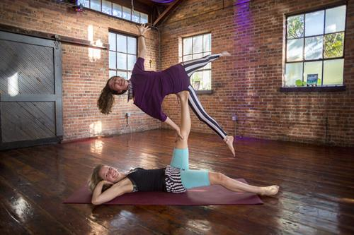 Acro Yoga playtime every Thursday night at 8:30pm!