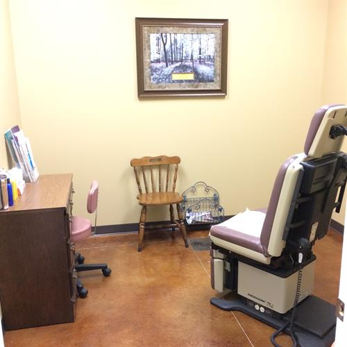 The exam room