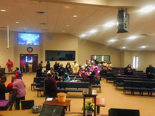 Getting ready to praise God