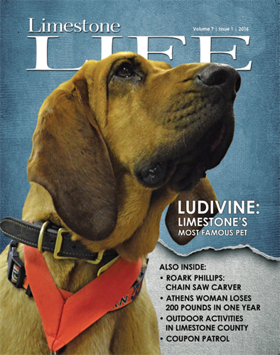 Limestone Life is a popular quarterly lifestyle magazine covering all of Limestone County