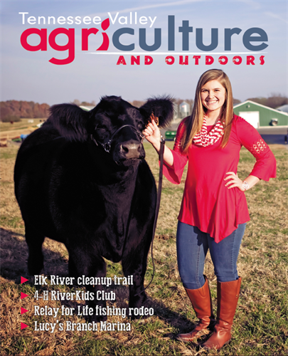 Tennessee Valley Agriculture & Outdoors publishes biannually with a focus on our agriculatural community and all things outdoors