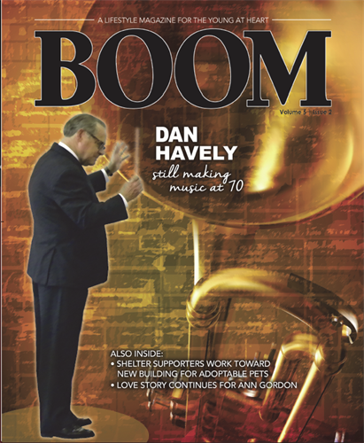 BOOM: A lifestyle magazine for the young at heart publishes quarterly