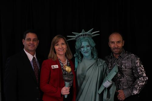 Mayor & Mrs. Troy Trulock with Libby & Lee Greenwood