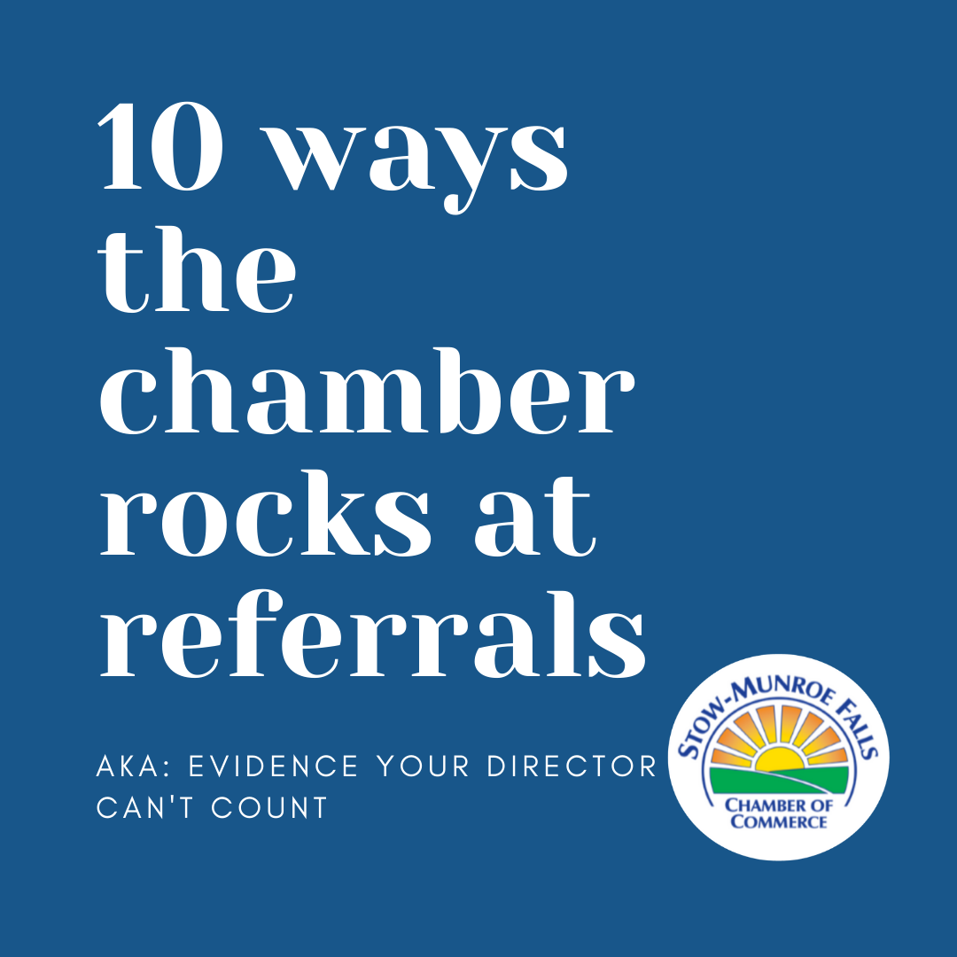 Image for Looking for Referrals? I've got 10 ways to get them!