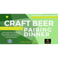 Vacaville Craft Beer Pairing Dinner