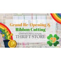 Ribbon Cutting Event- Opportunity House Thrift Store
