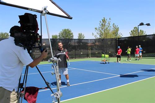 Behind the scenes of Tennis Player University