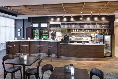 The Bistro - Serving Starbucks