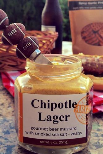 Chipotle Lager Mustard