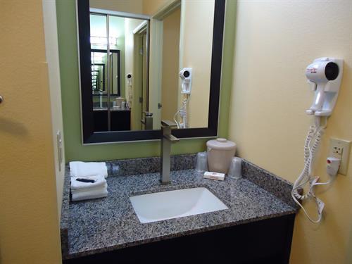 Standard Guestroom Vanity Area