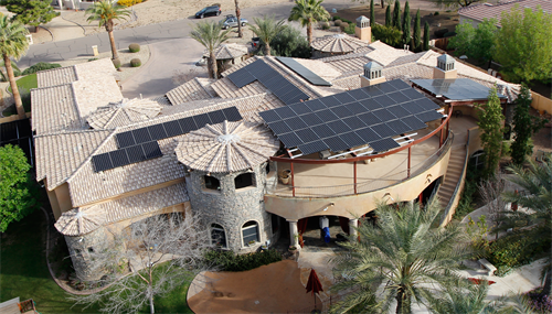 Large-scale custom solar project in Phoenix, Arizona
