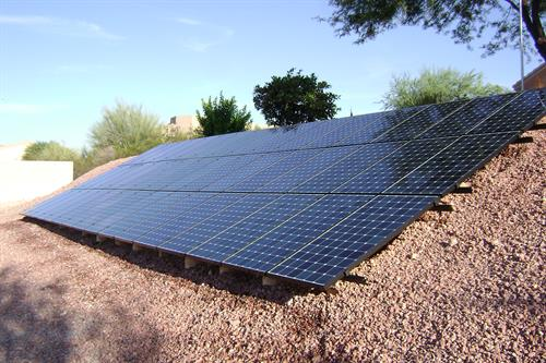 Ground solar system by Sun Valley Solar Solutions