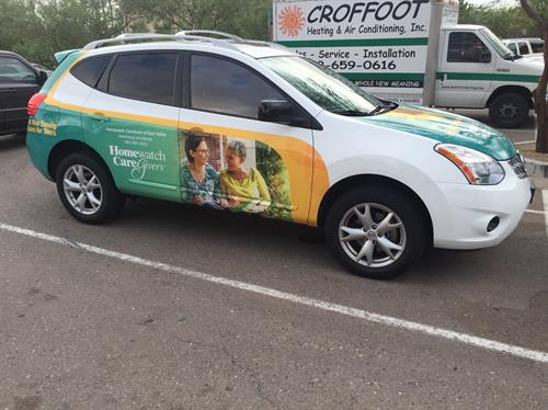 Vehicle Branding - Full Wrap