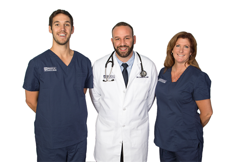 Meet the Arizona Medical and Sports Rehab Doctors: Dr. Josh Adams, Dr. Dean Dabbah and Dr. Tracey Ryder