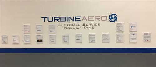 Customer Wall of Fame