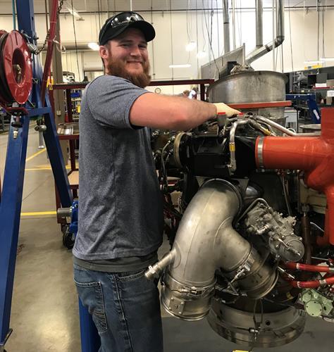 Aaron Stichter, APU Technician